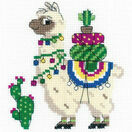 Llama Cross Stitch Kit additional 1