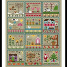 Little Dove's Year (Taupe) Cross Stitch Kit additional 2