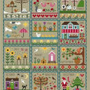 Little Dove's Year (Taupe) Cross Stitch Kit additional 1
