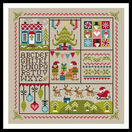 Holly Jolly Christmas Cross Stitch Kit additional 2