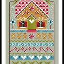 Gingerbread Cottage Cross Stitch Kit additional 2