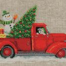 Christmas Truck Cross Stitch Kit additional 1