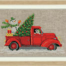 Christmas Truck Cross Stitch Kit additional 2