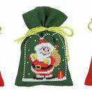 Christmas Figures Pot-Pourri Bags - Set Of 3 Cross Stitch Kits additional 1