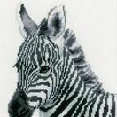 Zebra Cross Stitch Kit additional 1