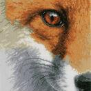 Fox Close-Up Cross Stitch Kit additional 1