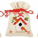 Christmas Wish Pot Pourri Bags Set of 3 Cross Stitch Kits additional 2