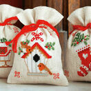 Christmas Wish Pot Pourri Bags Set of 3 Cross Stitch Kits additional 1