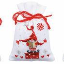 Christmas Gnomes Pot Pourri Bags Set of 3 Cross Stitch Kits additional 2