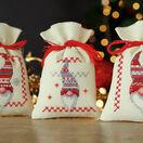 Christmas Beards Pot Pourri Bags Set of 3 Cross Stitch Kits additional 1