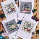 Joy Cross Stitch Christmas Card Kits (set of 4) additional 1