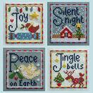 Joy Cross Stitch Christmas Card Kits (set of 4) additional 3