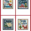 Joy Cross Stitch Christmas Card Kits (set of 4) additional 2