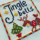 Joy Cross Stitch Christmas Card Kits (set of 4) additional 4