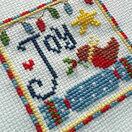 Joy Cross Stitch Christmas Card Kits (set of 4) additional 6