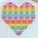 Geometric Heart Cross Stitch Kit additional 3