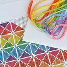 Geometric Heart Cross Stitch Kit additional 5