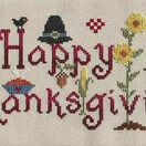 Happy Thanksgiving Cross Stitch Kit additional 2