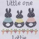 Bunny Baby Birth Sampler Cross Stitch Kit additional 2