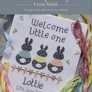 Bunny Baby Birth Sampler Cross Stitch Kit additional 4