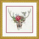 Woodland Deer Cross Stitch Kit additional 2