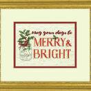 Merry & Bright Cross Stitch Kit additional 2