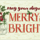 Merry & Bright Cross Stitch Kit additional 1