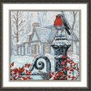 Christmas Morning Robin Cross Stitch Kit additional 2