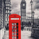 London Motive Cross Stitch Kit (with glow in the dark threads) additional 1