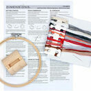 Joyful Snow Globe Cross Stitch Hoop Kit additional 3