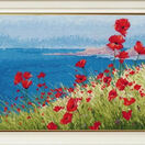 Summer, Sea, Poppies Cross Stitch Kit additional 2