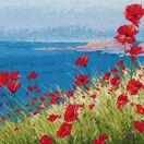 Summer, Sea, Poppies Cross Stitch Kit additional 1