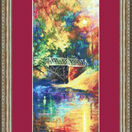 Autumn Blues Cross Stitch Kit additional 2