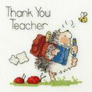 Schools Out Cross Stitch Card Kit additional 2
