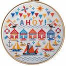 Ahoy! Hoop Cross Stitch Kit additional 1