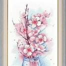 Apple Blossom Cross Stitch Kit additional 2