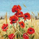 Summer, Field, Poppies Cross Stitch Kit additional 1
