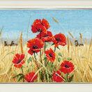 Summer, Field, Poppies Cross Stitch Kit additional 2