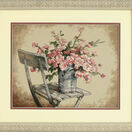 Roses On A White Chair Cross Stitch Kit additional 2