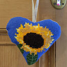 Sunflower Lavender Heart Tapestry Kit additional 2