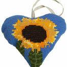 Sunflower Lavender Heart Tapestry Kit additional 1