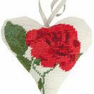 Rose Lavender Heart Tapestry Kit additional 1