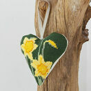 Daffodil Lavender Heart Tapestry Kit additional 2
