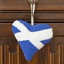Scottish Saltire Lavender Heart Tapestry Kit additional 2