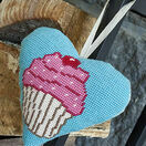 Cupcake Lavender Heart Tapestry Kit additional 2