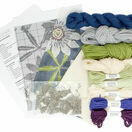 Passion Flower Herb Pillow Tapestry Kit additional 3