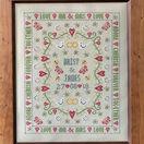 Bee Wedding Sampler Cross Stitch Kit additional 2