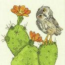 Prickly Owl Cross Stitch Kit additional 1