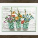 Flowering Jars Cross Stitch Kit additional 2