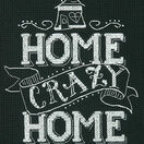 Home Crazy Home Cross Stitch Kit additional 1